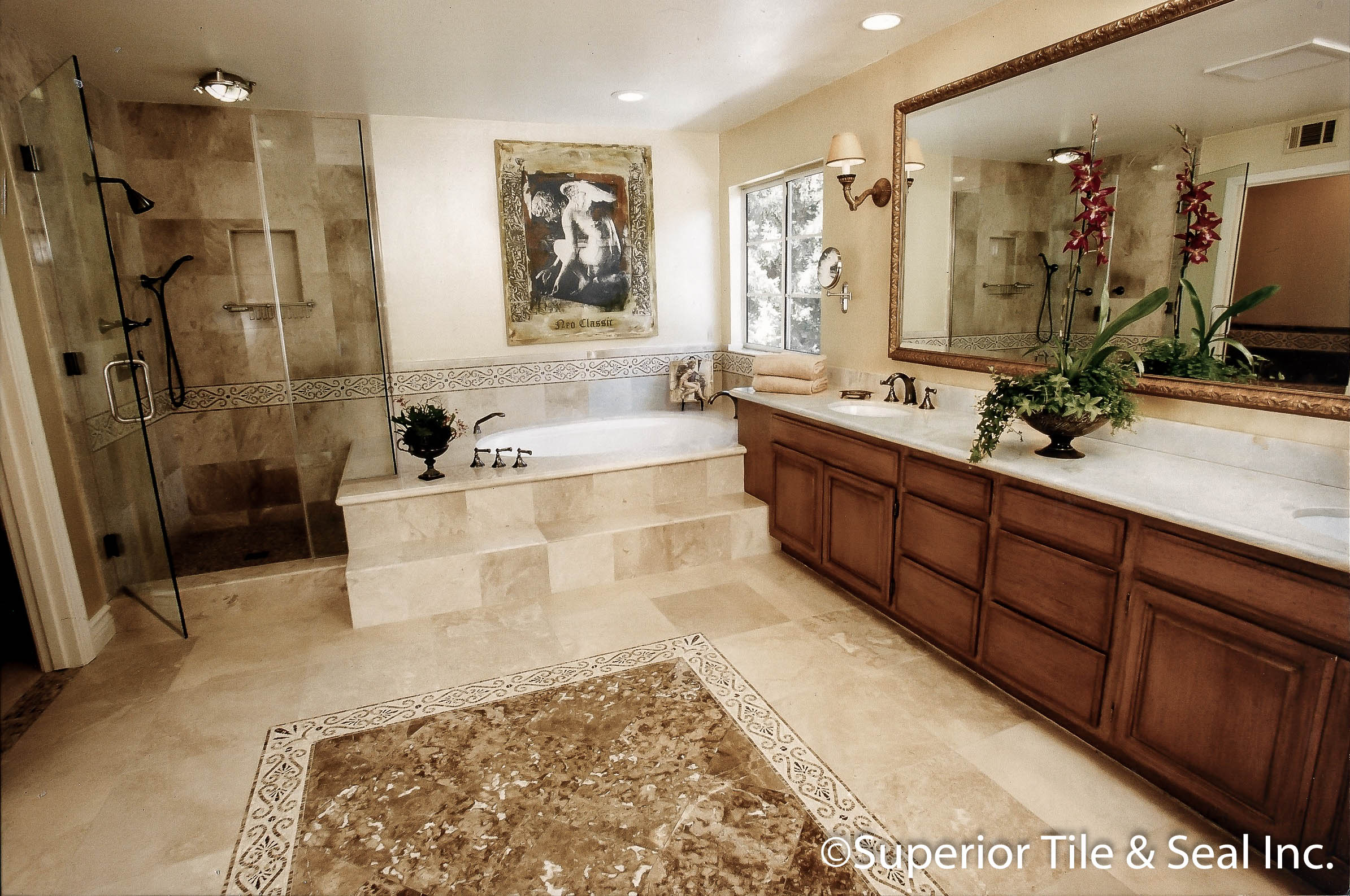 Bathrooms superior tile seal inc dailygadgetfo Gallery