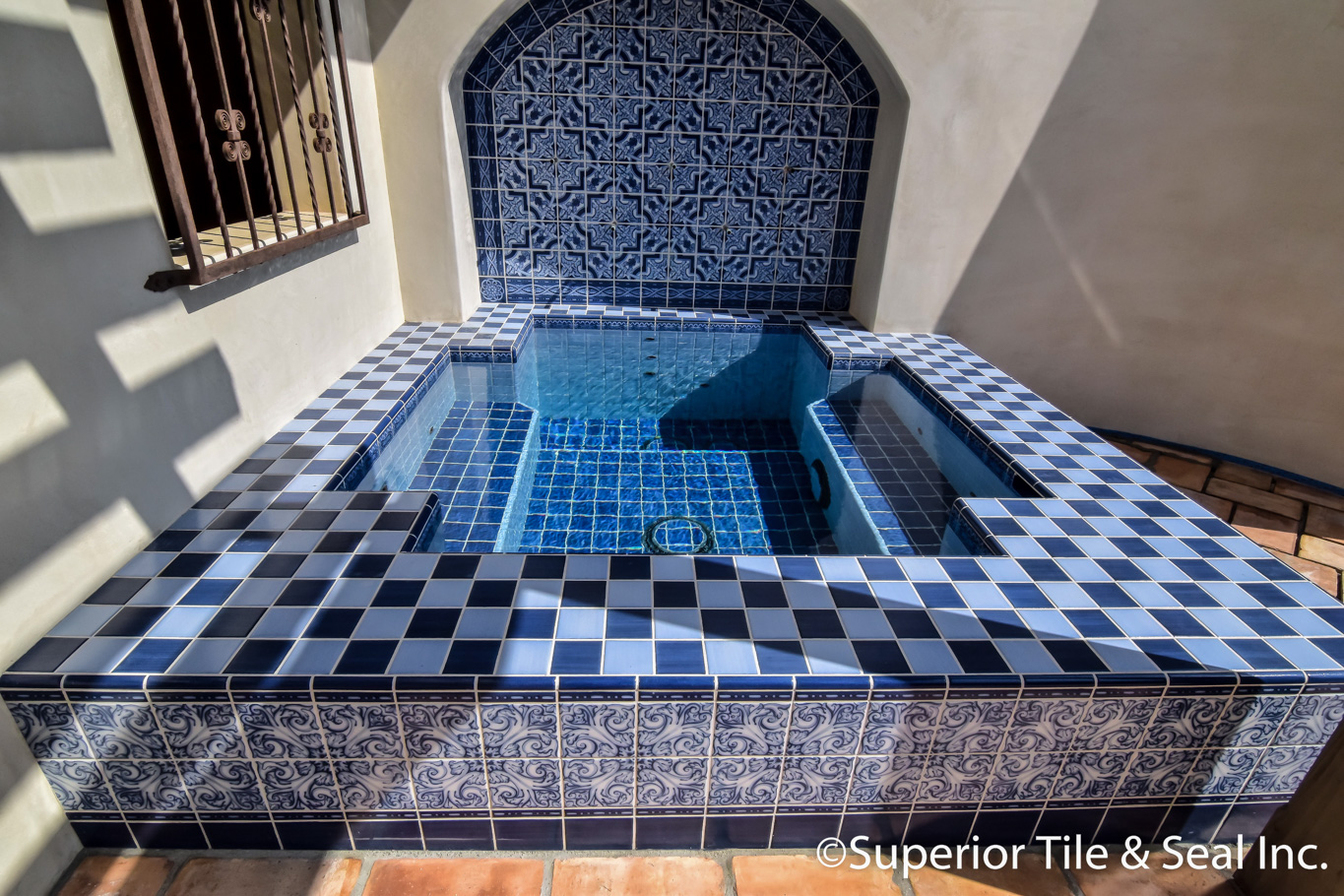 Pool and Spa Tile « Superior Tile & Seal Inc.